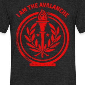 I am the Avalanche - Unisex Tri-Blend T-Shirt by American Apparel