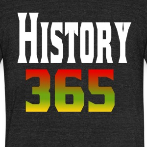 Black History 365 - Unisex Tri-Blend T-Shirt by American Apparel