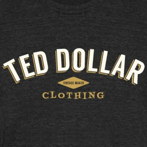 Ted Dollar Clothing - Unisex Tri-Blend T-Shirt by American Apparel