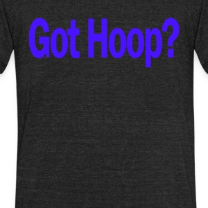 Basketball Got Hoop Funny - Unisex Tri-Blend T-Shirt by American Apparel