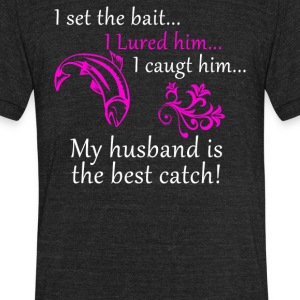 I Set The Bait - Unisex Tri-Blend T-Shirt by American Apparel