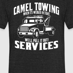 Camel Towing Services - Unisex Tri-Blend T-Shirt by American Apparel