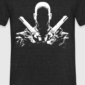 Hit Man - Unisex Tri-Blend T-Shirt by American Apparel