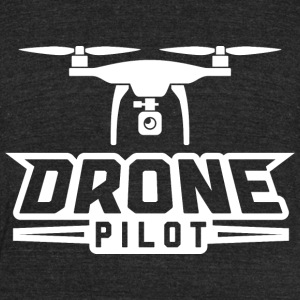Drone Pilot Graphic Tee - Unisex Tri-Blend T-Shirt by American Apparel