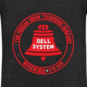The PhreakShow Telephone Company - Unisex Tri-Blend T-Shirt by American Apparel
