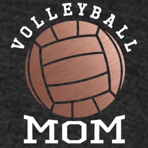 Rose Gold Volleyball Mom - Unisex Tri-Blend T-Shirt by American Apparel