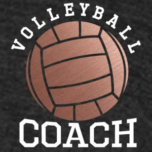 Rose Gold Volleyball Coach - Unisex Tri-Blend T-Shirt by American Apparel