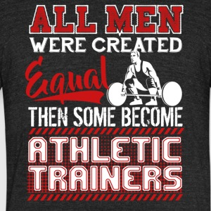 Athletic Trainers Shirt - Unisex Tri-Blend T-Shirt by American Apparel
