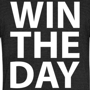 Win the day - Unisex Tri-Blend T-Shirt by American Apparel