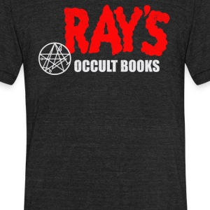 Ray's Occult Books - Unisex Tri-Blend T-Shirt by American Apparel