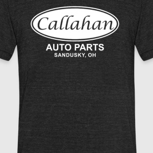 Callahan Auto Parts - Unisex Tri-Blend T-Shirt by American Apparel