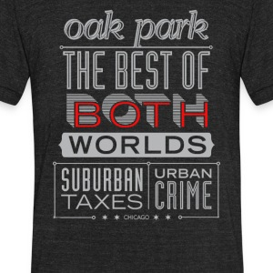 The best of booth worlds - Unisex Tri-Blend T-Shirt by American Apparel