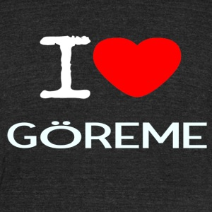 I LOVE GÖREME - Unisex Tri-Blend T-Shirt by American Apparel