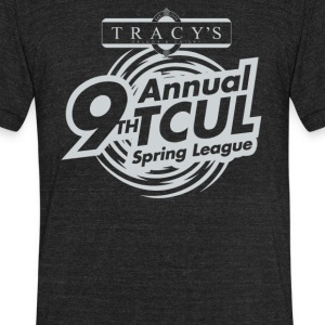 Annual t cul - Unisex Tri-Blend T-Shirt by American Apparel