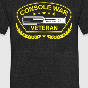 Console War Veteran - Unisex Tri-Blend T-Shirt by American Apparel