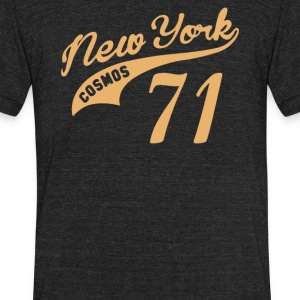 New York Cosmos 71 Vintage - Unisex Tri-Blend T-Shirt by American Apparel