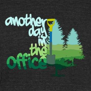 Another Day In The Office, Tree Planter Style - Unisex Tri-Blend T-Shirt by American Apparel