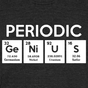 Periodic Shirt - Unisex Tri-Blend T-Shirt by American Apparel