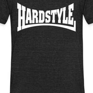 Hardstyle Hard Bass - Unisex Tri-Blend T-Shirt by American Apparel