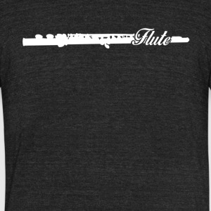 Flute Tee Shirts - Unisex Tri-Blend T-Shirt by American Apparel