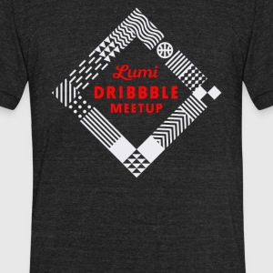 Dribble meetup - Unisex Tri-Blend T-Shirt by American Apparel