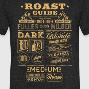 Roast guide - Unisex Tri-Blend T-Shirt by American Apparel