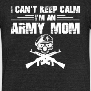 Army Mom Shirt - Unisex Tri-Blend T-Shirt by American Apparel