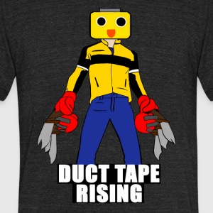 Duc tape - Unisex Tri-Blend T-Shirt by American Apparel