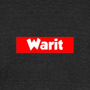 Warit X Supreme design - Unisex Tri-Blend T-Shirt by American Apparel