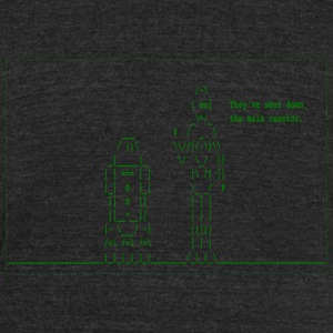 Star Wars - They've Shut Down the Main Reactor - Unisex Tri-Blend T-Shirt by American Apparel