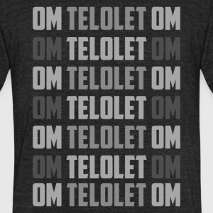OMTOLELOT - Unisex Tri-Blend T-Shirt by American Apparel