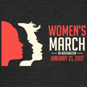 Women's March on Washington - Unisex Tri-Blend T-Shirt by American Apparel
