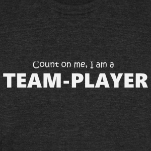 Teamplayer 5 (2174) - Unisex Tri-Blend T-Shirt by American Apparel