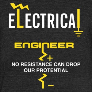 Electrical Engineer Shirt - Unisex Tri-Blend T-Shirt by American Apparel