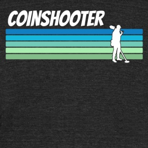 Retro Coinshooter - Unisex Tri-Blend T-Shirt by American Apparel