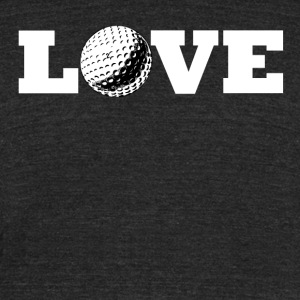 Golf Love - Unisex Tri-Blend T-Shirt by American Apparel