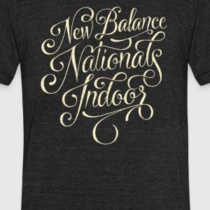 New balance Nationals indoor - Unisex Tri-Blend T-Shirt by American Apparel