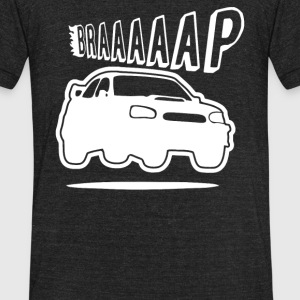 Turbo Braaap - Unisex Tri-Blend T-Shirt by American Apparel