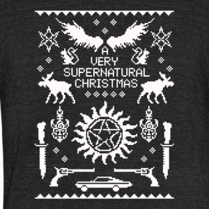 A very Supernatural - Unisex Tri-Blend T-Shirt by American Apparel