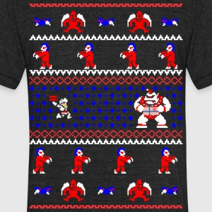 Ghost_n_Goblin_n_Christmas - Unisex Tri-Blend T-Shirt by American Apparel