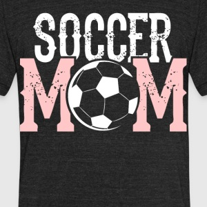 Soccer Mom T Shirt - Unisex Tri-Blend T-Shirt by American Apparel