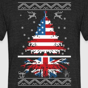 American with British root - Unisex Tri-Blend T-Shirt by American Apparel