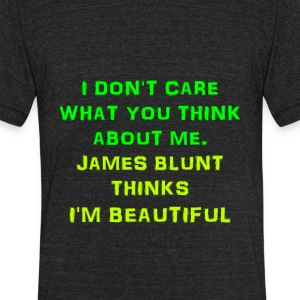 I am beautiful - Unisex Tri-Blend T-Shirt by American Apparel