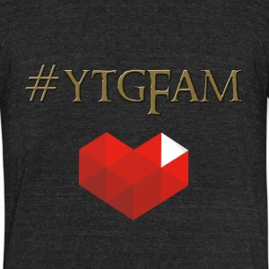 YTGHeart - Unisex Tri-Blend T-Shirt by American Apparel