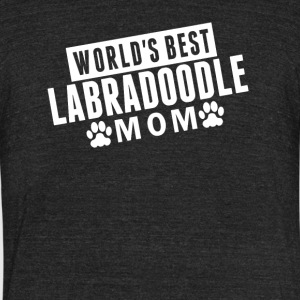 World's Best Labradoodle Mom - Unisex Tri-Blend T-Shirt by American Apparel