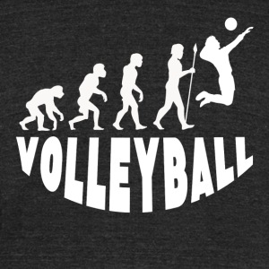 Volleyball Evolution - Unisex Tri-Blend T-Shirt by American Apparel