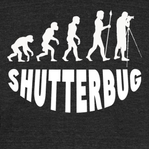 Shutterbug Evolution - Unisex Tri-Blend T-Shirt by American Apparel