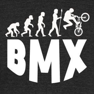 BMX Evolution - Unisex Tri-Blend T-Shirt by American Apparel