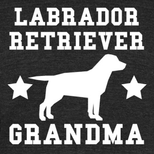 Labrador Retriever Grandma - Unisex Tri-Blend T-Shirt by American Apparel