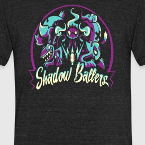 Shadow Ballers - Unisex Tri-Blend T-Shirt by American Apparel